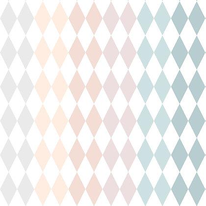 Rainbow Diamonds Wallpaper