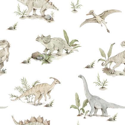 Happy Dinos Wallpaper
