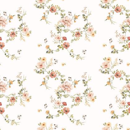 Floral Vintage Wallpaper