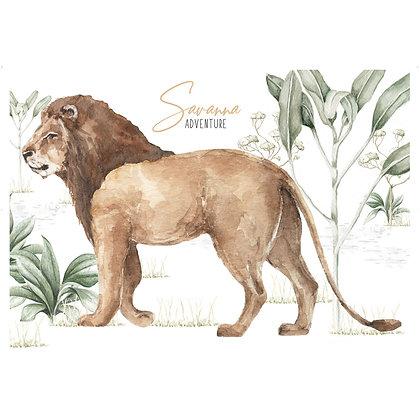 Big Lion Savanna Adventure