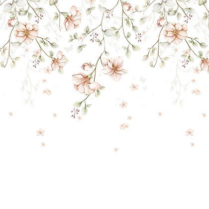 Paradise Garden Pastel Wallpaper