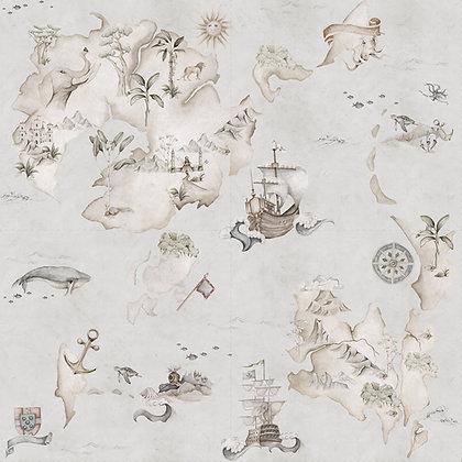 Map Stories From The Sea Color Wallpaper