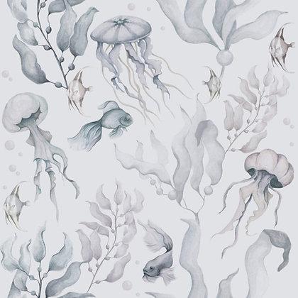 Magic Of The Ocean Colour Wallpaper