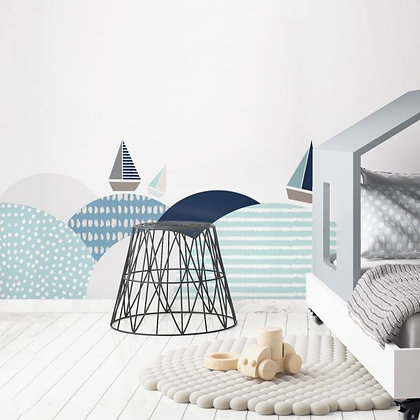 Southern Sea Behind-The-Bed Wallsticker