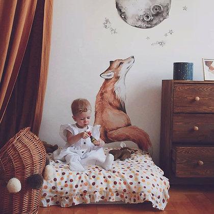 Mr. Fox Good Night Wallsticker