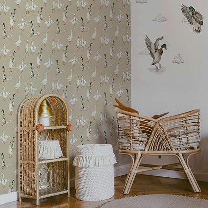 White Ducks Wallpaper / Return to Innocence