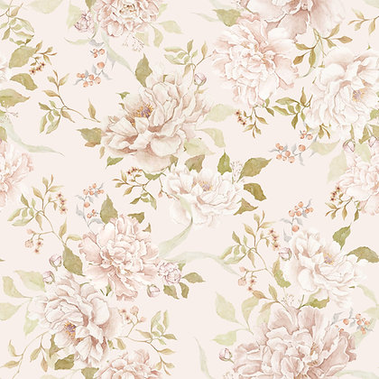 Floral Romantism Wallpaper