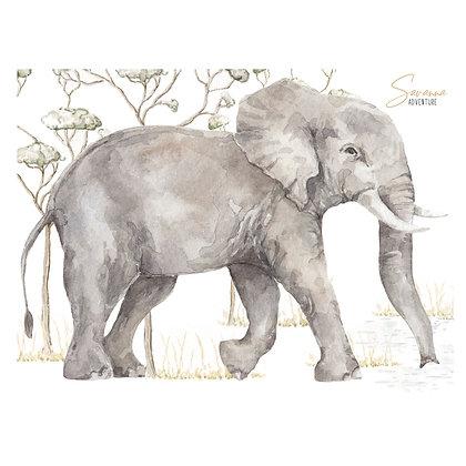 Elephant Savanna Adventure