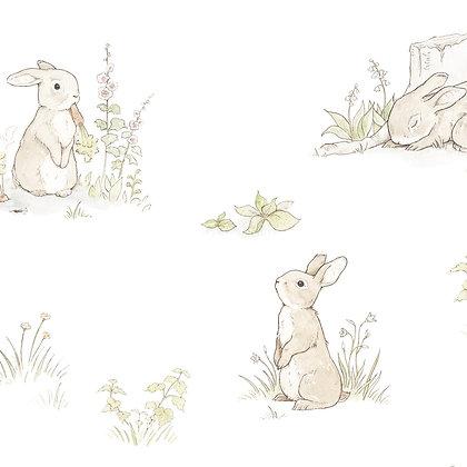 Rabbit Day Classic Wallpaper