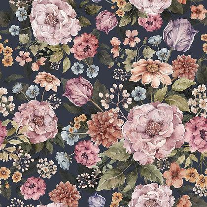 Bouquet of flowers- violet wallpaper