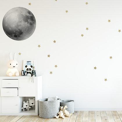 Full Moon Wallsticker