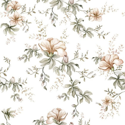 Flowers Of Wilderness White Wallpaper