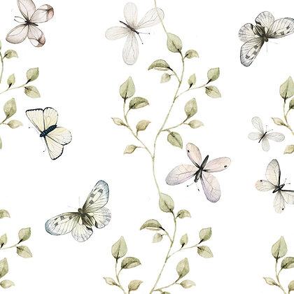 Butterflies Having Fun Wallpaper