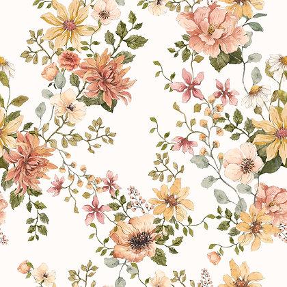 English Garden Wallpaper