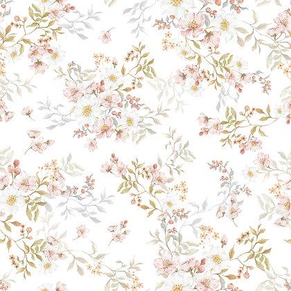 Pastels In Bloom Wallpaper