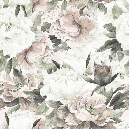 White And Pink Peonies Max Tapeta