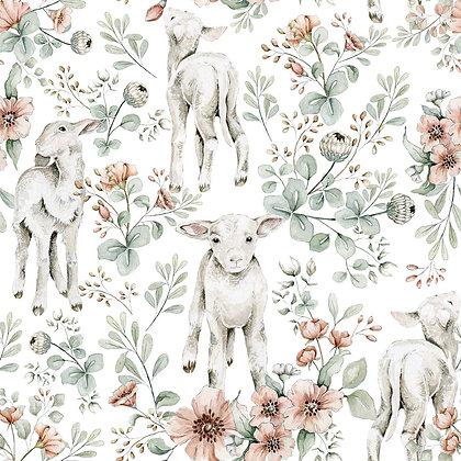 Little Lambs Wallpaper / Return to Innocence