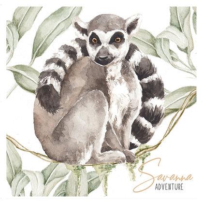 Lemur Savanna Adventure