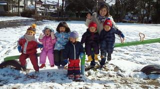 楽しい雪あそび!