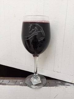 Wine Glass - Wispy Horse