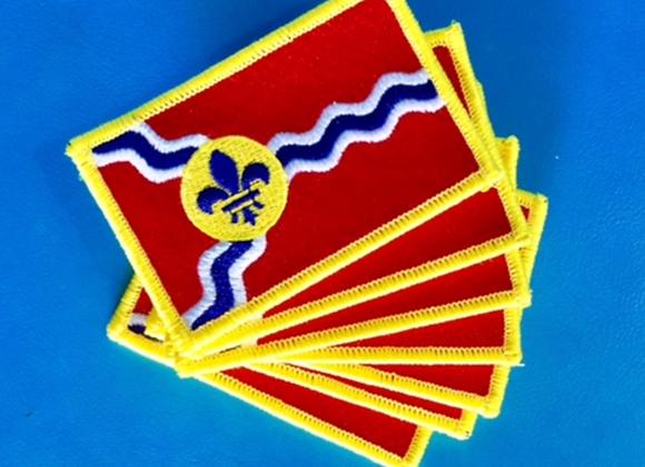 St. Louis Flag Patch