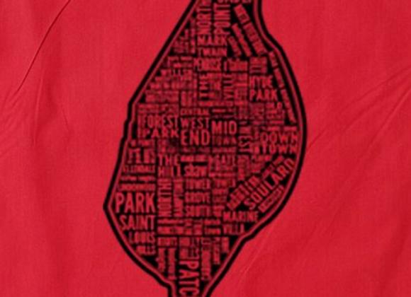 Neighborhood Map Tote
