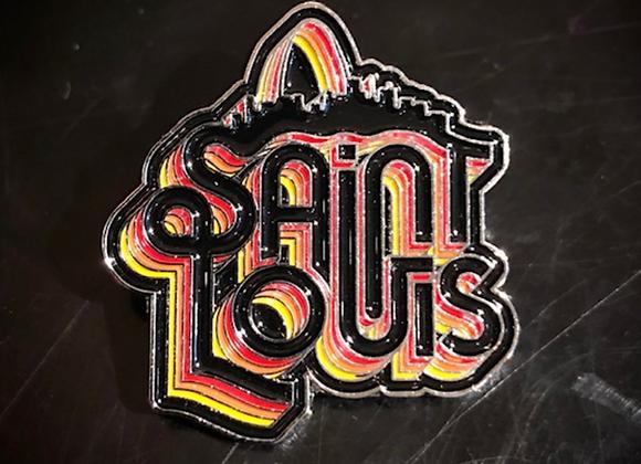 Saint Louis Soul Pin