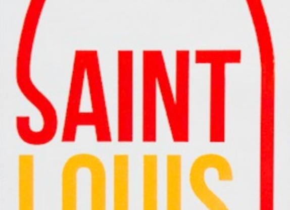 Saint Louis Retro Magnet