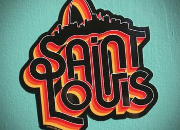 Saint Louis Soul Sticker