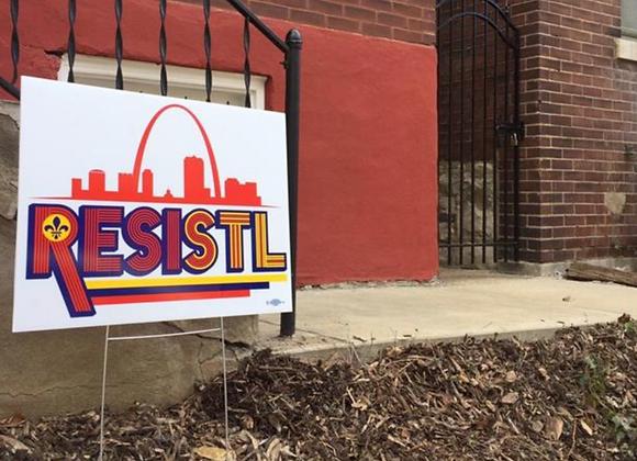 RESISTL Yard Sign