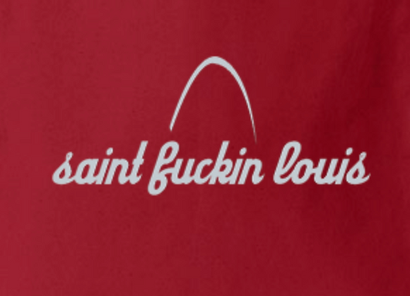 Saint Fuckin Louis (with Arch) Tote