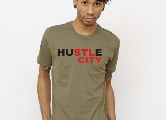 HuSTLe City - STL Tee