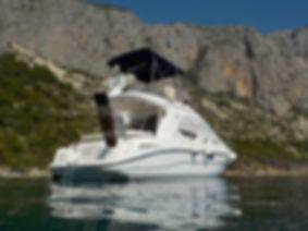 Uvala Klokun near to the harbour of Podgora, Makarska Riviera, Dalmatia, Croatia, Adria