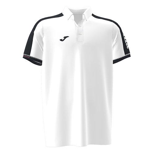 Polo-Shirt Tape Cro blanco