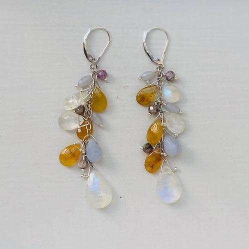 Sun & Moon Statement Earrings