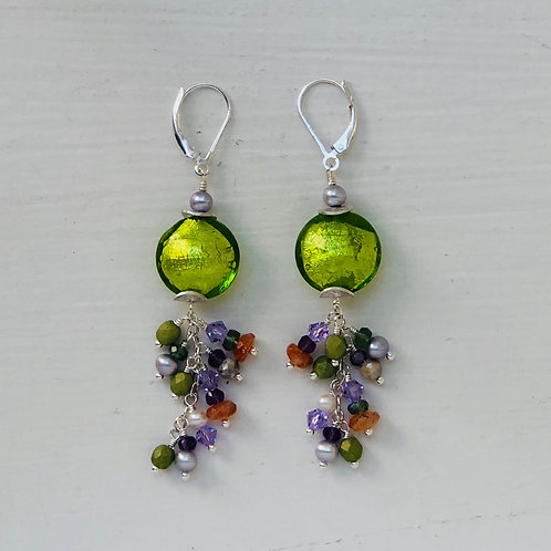 Venetian Spring Statement Earrings