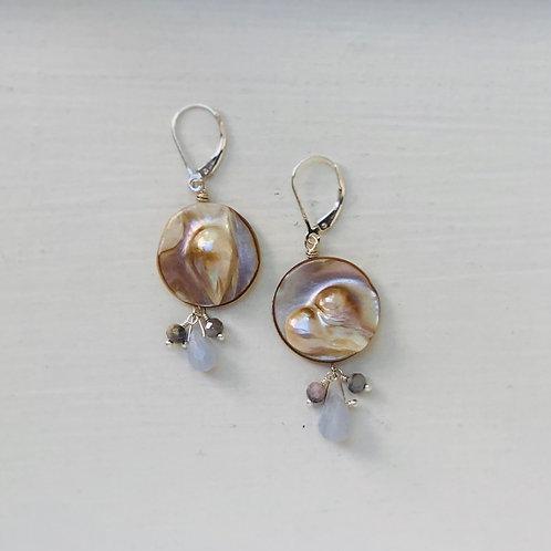 Moonshine Agate Earrings