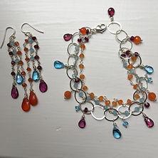 Bellacarisma Custom Earrings & Bracelet