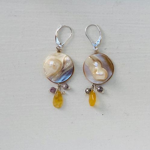 Moonshine Kyanite Earrings