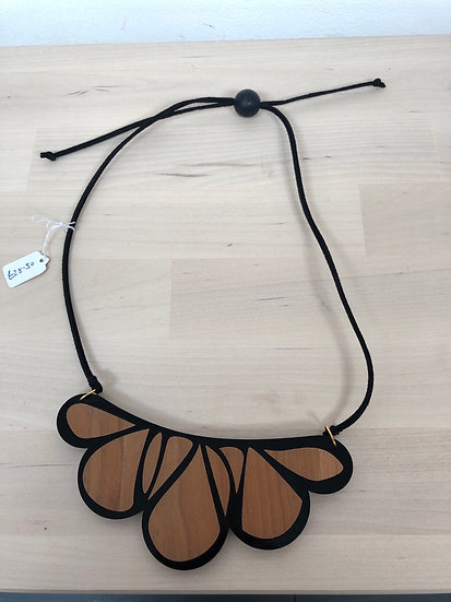 Carly Dove inlaid necklace