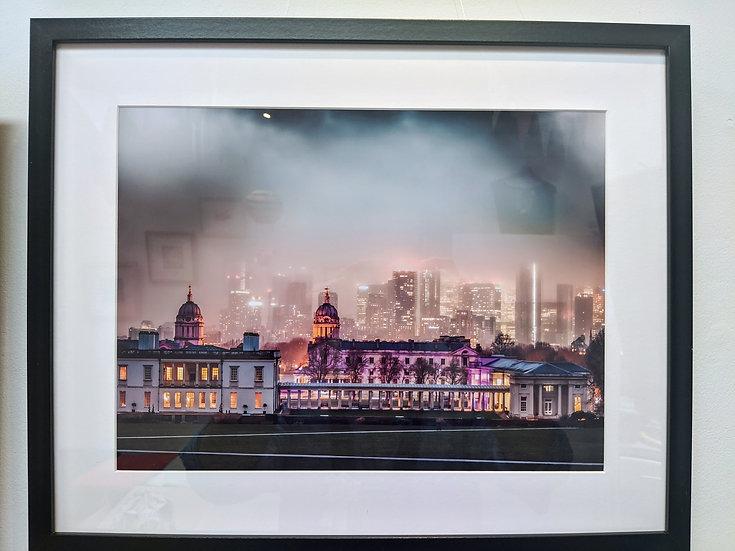 Foggy Greenwich by Phil Clarkstone