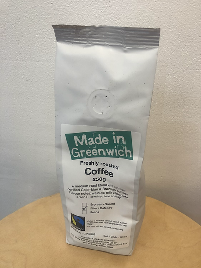 Drury for Made in Greenwich coffee
