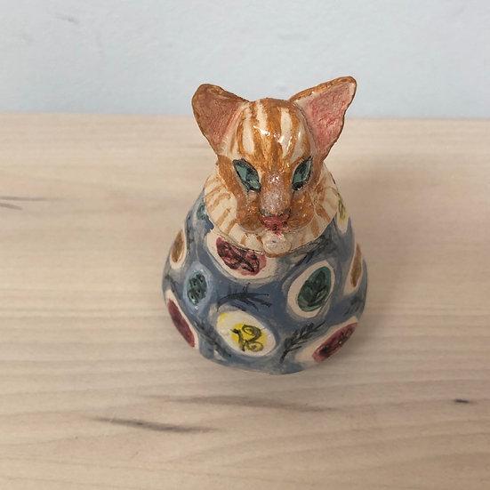 Handmade Catopic Jar