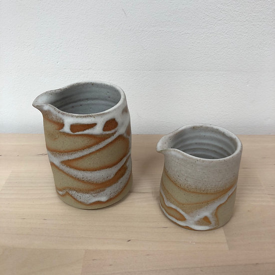 Jan Cockcroft hand thrown jugs from....