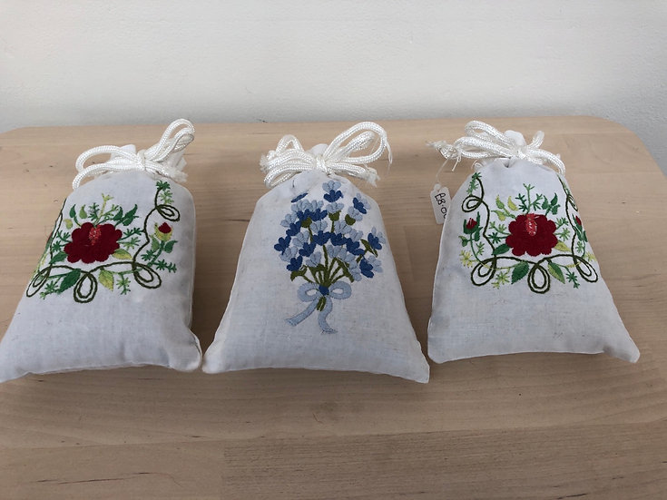 Lavender bags by Baish Collectables each....