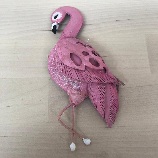 Very Alice in Wonderland Flamingo brooch!