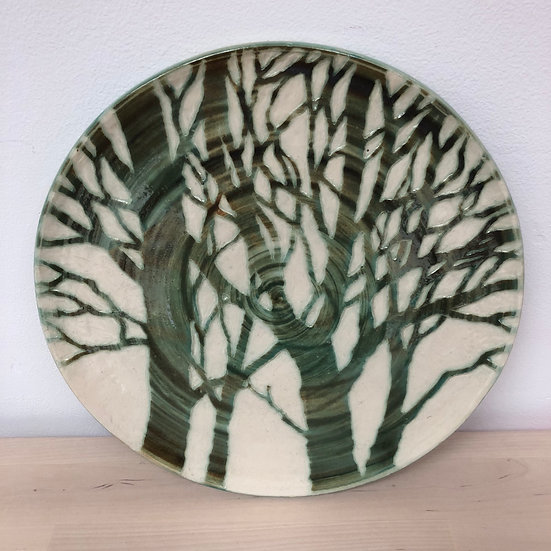 Fforest plate by Jonquil Cook