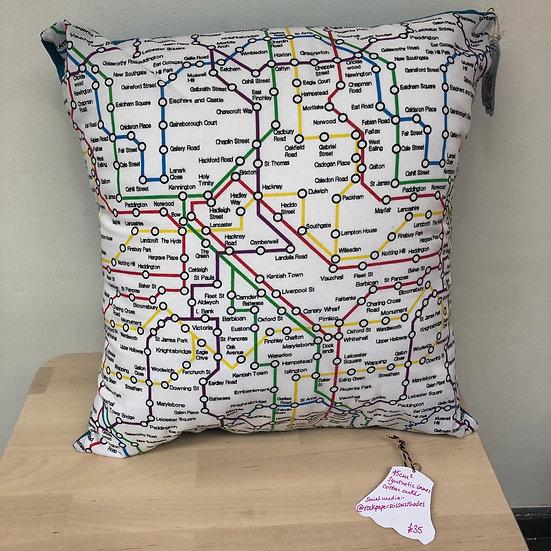 Fantasy tubeline cushion & pad (blue)