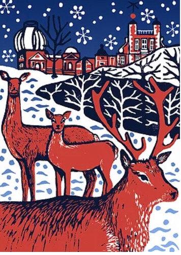 GCDA Made in Greenwich Xmas Deer card 2020