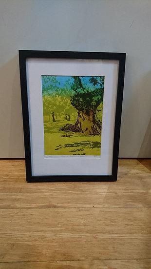 Chestnut, Greenwich Park. Edition Varied. Framed - Ann Hillary